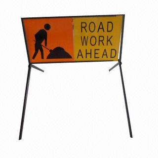 Aluminum traffic sign
